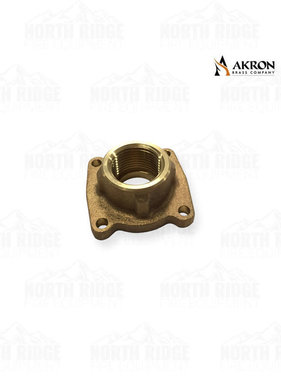 "Akron Brass 1"" NPT Female Flange Adapter"