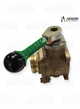 "Akron Brass 898150179 Valve with 1.5"" NH Adapter and Ball Style Lever"