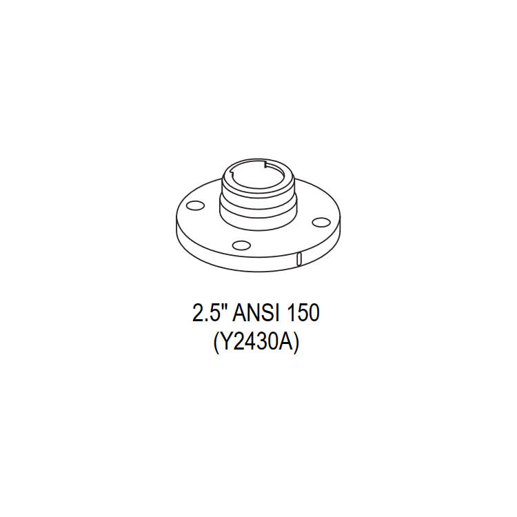 "TFT TFT Y2430A Quick Connect 2.5"" ANSI 150 Aluminum Flange"