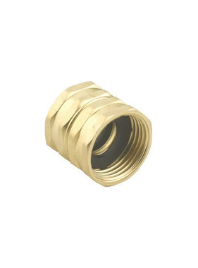 "Brass, Double Female Swivel 3/4"" GHT x 3/4"" GHT"