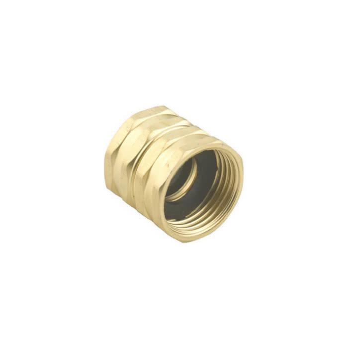 """Brass, Double Female Swivel 3/4"""" GHT x 3/4"""" GHT"""