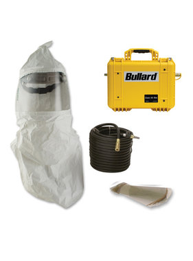 Bullard Supplied Air Respirator with Clean Air Box & Full-Face Hood