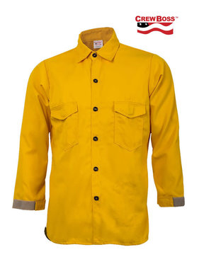 CrewBoss 5.8oz Tecasafe® PLUS Traditional Wildland Shirt