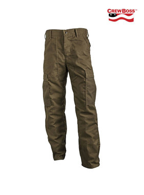 CrewBoss 7.0oz Advance® Classic Brush Pant (Khaki)