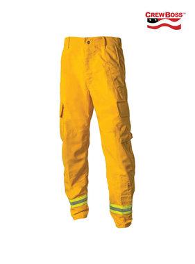 CrewBoss 7.5oz Nomex® IIIA Yellow Wildland Interface Brush Pant