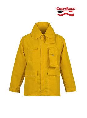 CrewBoss 6.0oz Nomex® IIIA Yellow Wildland Brush Coat