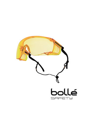 Bolle Override Over-the-Glasses Safety Goggles (Yellow)