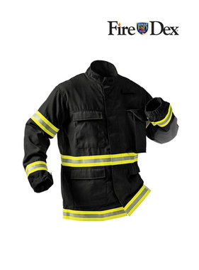 Fire-Dex TECGEN51 Level 3 Fatigue Jacket (Black)