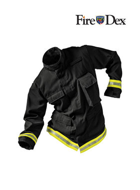 Fire-Dex TECGEN51 Level 1 Fatigue Jacket (Black)