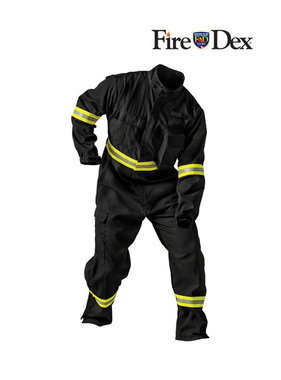 Fire-Dex TECGEN51 Black Coverall