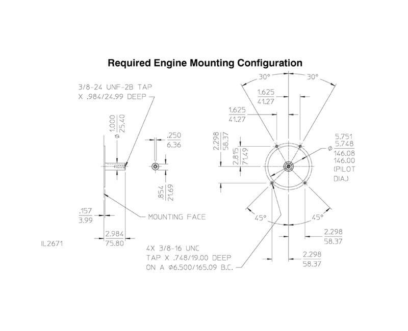 Waterous Waterous PB18-2515-LE Pump End (less engine)