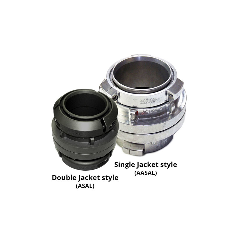 """Action Coupling Action Coupling 5"""" Double Jacket Hose x 5"""" Storz Field Coupling"""