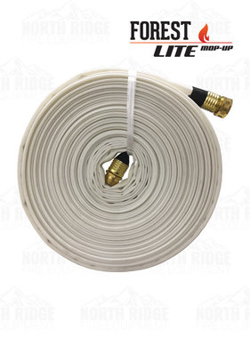 "Kuriyama Fire Products 3/4"" GHT x 100ft Forest-Lite Mop-Up Hose"