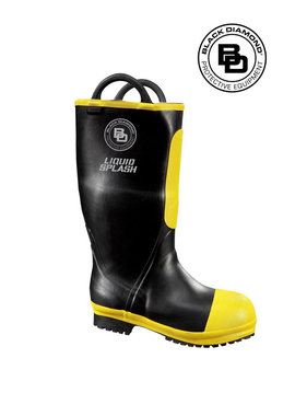 "Black Diamond Women's 16"" Rubber Firefighter Boot"