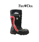 Fire-Dex FDXL200 Red Leather Firefighting Boot