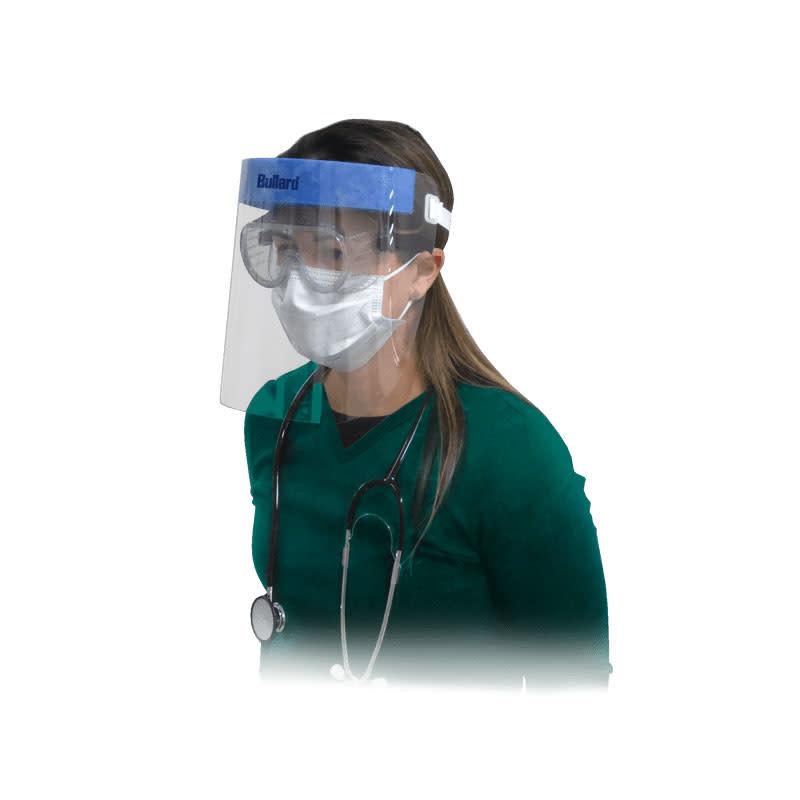 "Bullard Bullard HFS9ME 9"" Healthcare Faceshield"