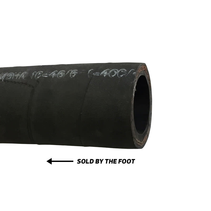"Hale 3"" Black High-Pressure Flexible Piping (per foot)"
