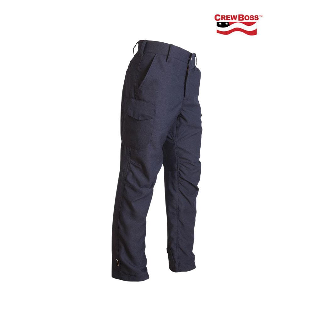 CrewBoss CrewBoss GEN II Dual Cert 7.7 oz. Nomex® IIIA Tactical Athletic Pant (Navy)