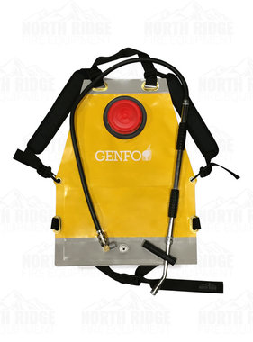 C&S Supply, Inc. Genfo 45 Backpack Sprayer Water Tank with Double Action Pump