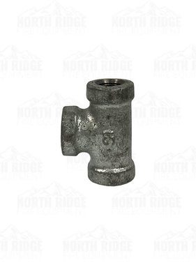 "Legend Valve & Fitting 1/8"" Galvanized Tee"