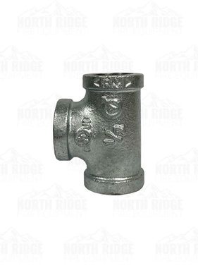 "Legend Valve & Fitting 1/2"" Galvanized Tee"
