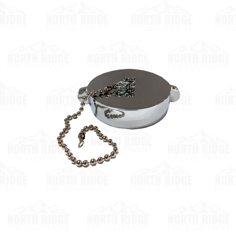 """South Park Corp. 3.5"""" NH/NST Chrome Cap with Chain"""
