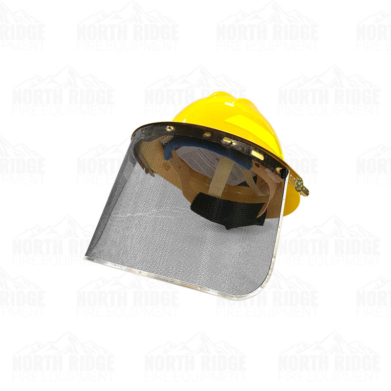 Bullard Full Brim Helmet Mount For Mesh Screen