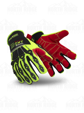 HEXARMOR Pathogen Barrier EXT Rescue Barrier Glove with Velcro Closure