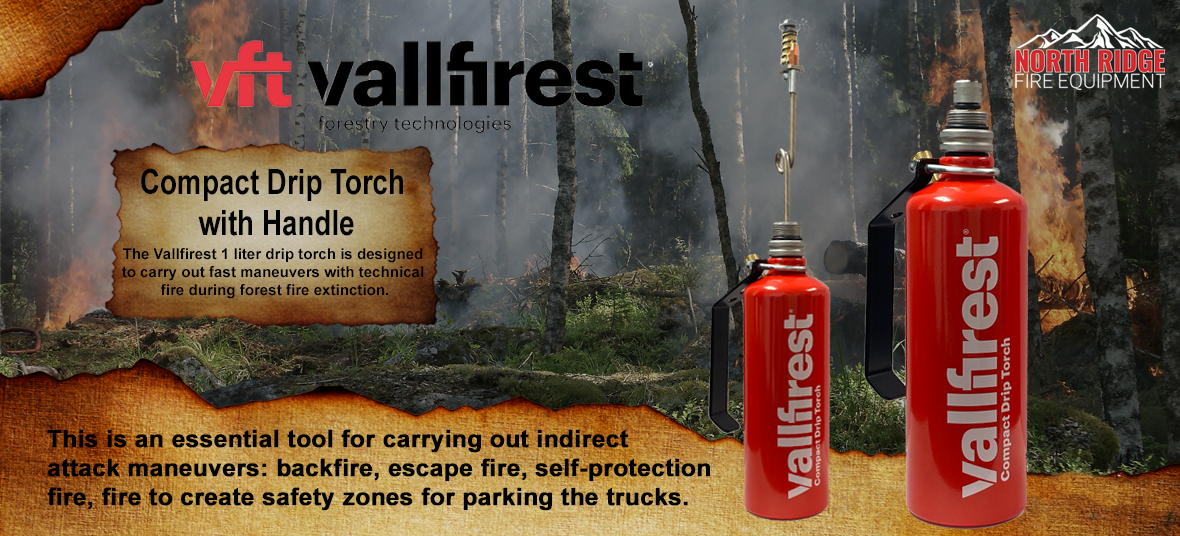 Vallfirest Compact Drip Torch with Handle