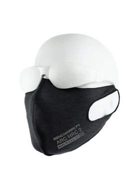 Benchmark FR CAT-2 Face Mask Arc & Flame Resistant 6.2oz Cotton Jersey 3-pack Black