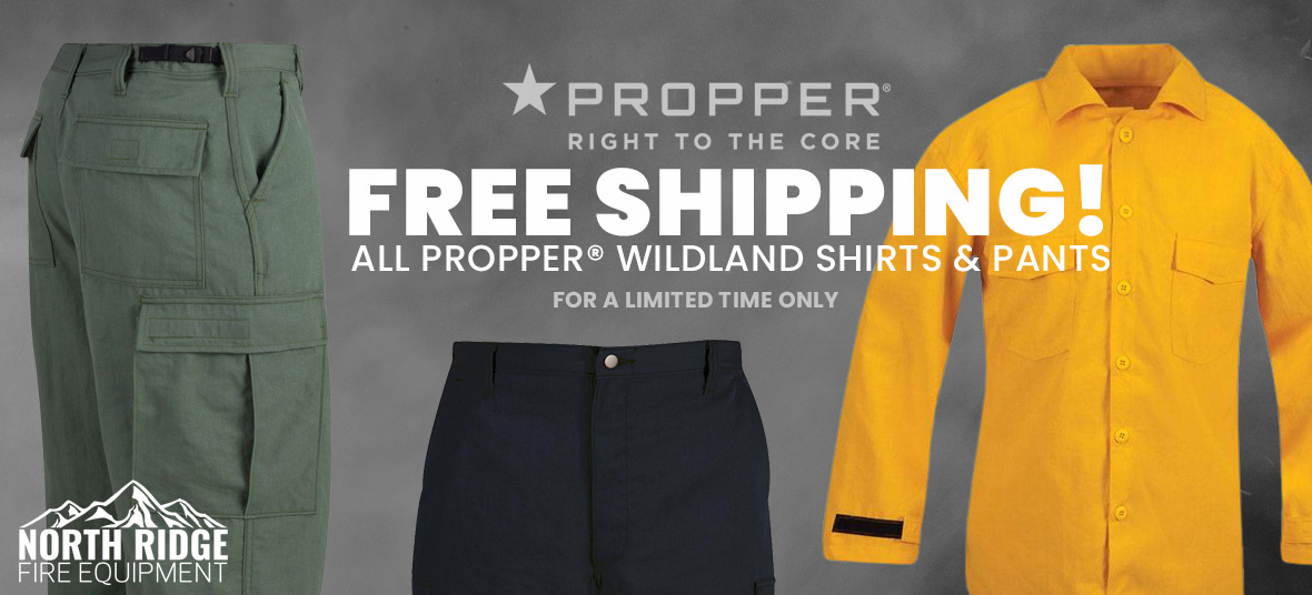 Free Shipping - Propper Wildland Shirts and Pants