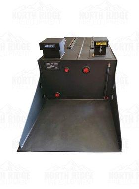 300 Gallon Skid Unit w/Platform, 10 Gallon Foam, Reel Mounts