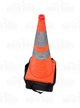 """Tru-Force 5PC 28"""" Collapsible Traffic Cones"""