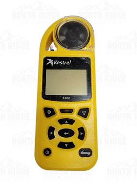 Forestry Suppliers 89653 Kestrel 5500 Yellow Weather Meter