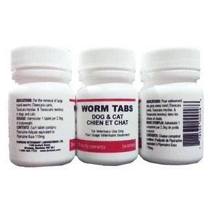 DVL Worm Tabs (24)