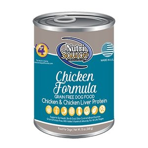 NutriSource Canned Food, Chicken