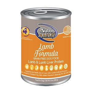NutriSource Canned Food, Lamb