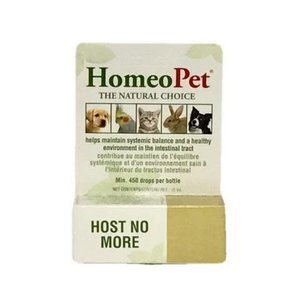 HomeoPet Host No More