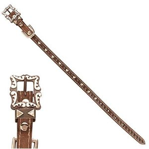 Decorative Leather Dog Collar