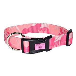 Hamilton Adjustable 1in Collar, Pink Camo