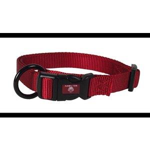 Hamilton Adjustable 1in Collar, Red