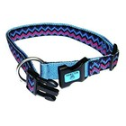 Hamilton Adjustable 5/8in Collar, Weave Ocean