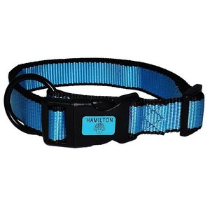 Hamilton Neon 1in Adjustable Collar, Blue