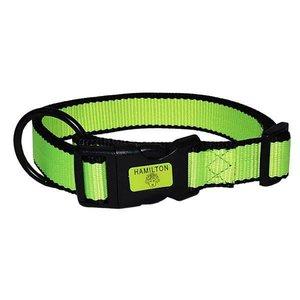 Hamilton Neon 1in Adjustable Collar, Yellow