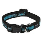 Rogz Turquoise Dog Collar (S/M)
