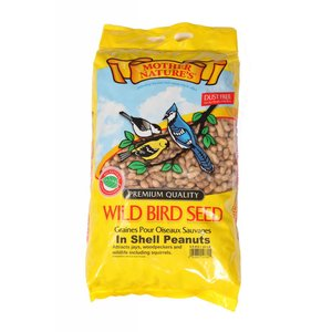 Mother Nature Wild Bird Seed In Shell Peanuts
