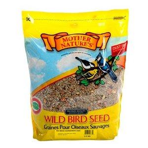 Mother Nature Wild Bird Seed No Mess Gardener's Mix, 20lb