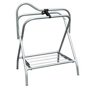 Folding Silver Saddle Stand (No Wheels)