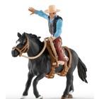 Saddle Bronc Riding with Cowboy