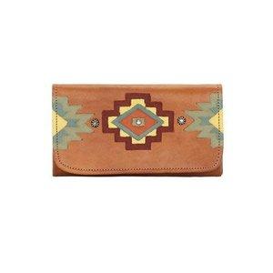 Adobe Allure Ladies Tri-Fold Wallet